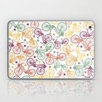 Whimsical Bicycle Patter… Laptop & iPad Skin