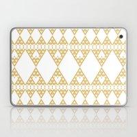 Golden Lace Laptop & iPad Skin