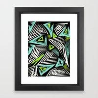 Tribal Zest  Framed Art Print