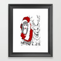 A 'Slaying' Good Time Framed Art Print