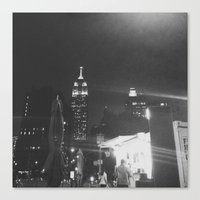 Insomnia City Canvas Print