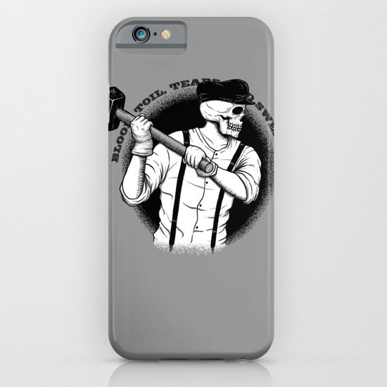 Blood, Toil, Tears, and Sweat iPhone & iPod Case