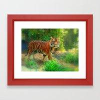 Tiger Tiger Framed Art Print
