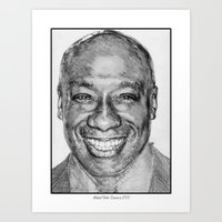 Michael Clarke Duncan In… Art Print