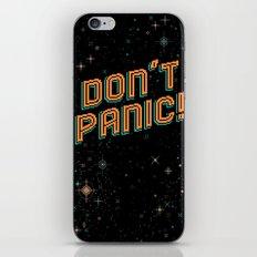 Don't Panic! Pixel Art iPhone & iPod Skin