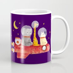 Let's All Go To Mars Mug