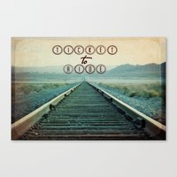 Ticket to Ride Canvas Print