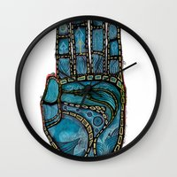 The Hand Of (Free)Time Wall Clock