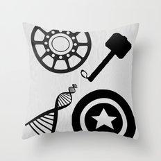 The Avengers Throw Pillow