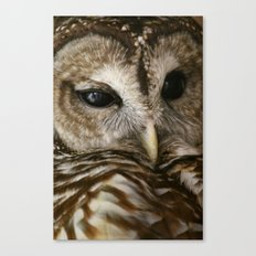 Who? Canvas Print