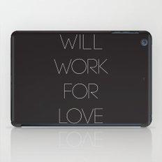 i will. iPad Case