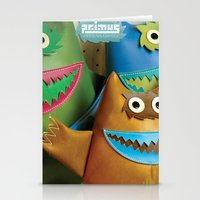 Alt. Album Cover: Green Naugahyde Stationery Cards