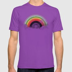 Rainbow Classics Mens Fitted Tee Ultraviolet SMALL