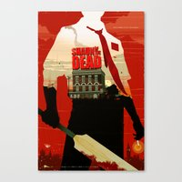 Shaun Of The Dead Canvas Print