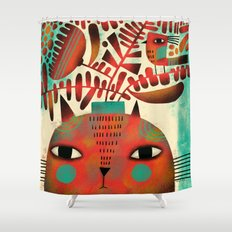 SPROUTING HEAD Shower Curtain