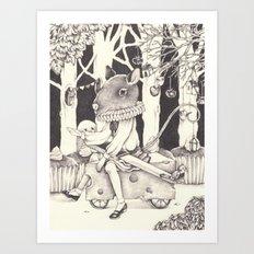 Sally Forth Art Print