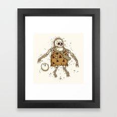 Mysterious fossil Framed Art Print