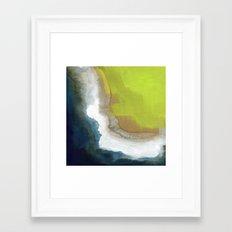 Surf Abstraction Framed Art Print