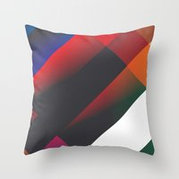 edacious. Throw Pillow