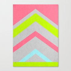 Abstract Neon Canvas Print