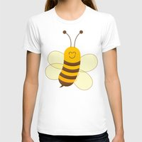 T-shirt featuring Cute Baby Bee by Zoo&co on Society6 Products