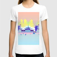 Summer City Womens Fitted Tee White SMALL