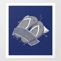 'sleep'pers Art Print