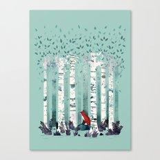 The Birches Canvas Print