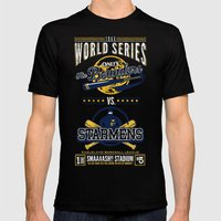 World Series 19XX Mens Fitted Tee Black SMALL