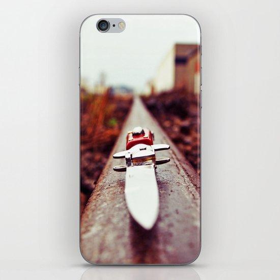 Stiletto aesthetics iPhone & iPod Skin