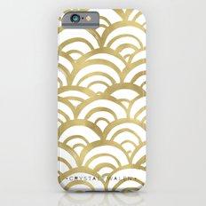 Gold Scallop iPhone 6 Slim Case