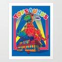 TOYSAURUS Art Print