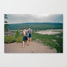 Two Boys Canvas Print