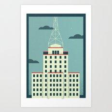 Westward Ho Art Print