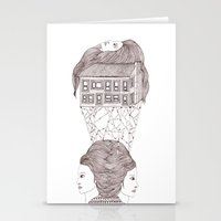 North, East, West Stationery Cards