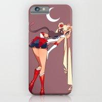 sailor moon iPhone & iPod Cases featuring Sailor Moon by Jizzybro
