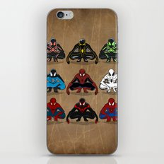 Spider-man - The Year of the Costumes iPhone & iPod Skin