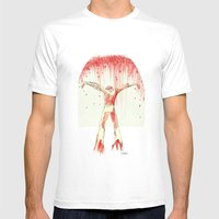 From The Water Mens Fitted Tee White SMALL