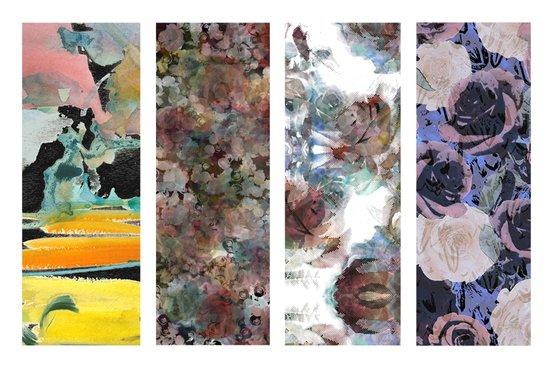 Art textiles Art Print