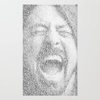 Dave Grohl. Everlong. Rug