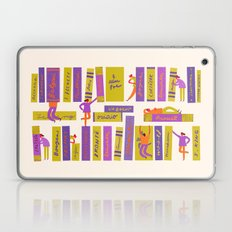 Writers and readers (1st version) Laptop & iPad Skin