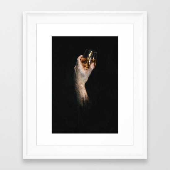 Study in Scotch Framed Art Print