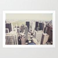 The View::nyc Art Print