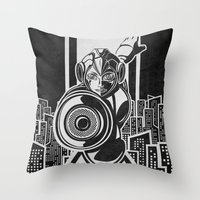 Megaman. In The Year 20x… Throw Pillow