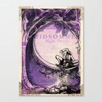 Midsummer Night's Dream Canvas Print