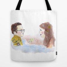 Sam and Suzy, Moonrise Kingdom Tote Bag