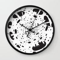 Explosion Wall Clock