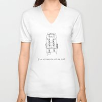 I was Not Made for Just One Place Unisex V-Neck
