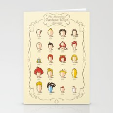 The Marvelous Cartoon Wi… Stationery Cards