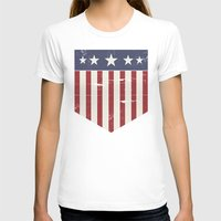 flag T-shirts featuring Flag by Emma Harckham